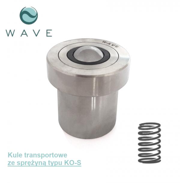 Kula transportowa ze sprężyną KO-15 S 60 Wave Sklep