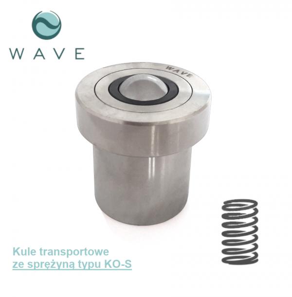 Kula transportowa ze sprężyną KO-30 S 150 Wave-Sklep